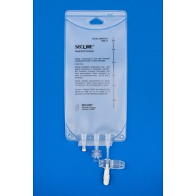 100 ml PVC Compounder Bag – 2 Port, 200/CS