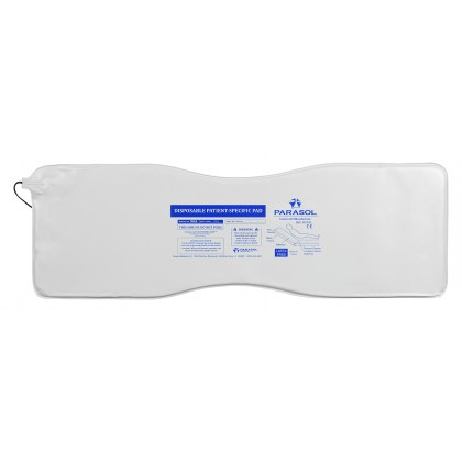 30Day Bed Pad 8ft Cord-White, 50/CS