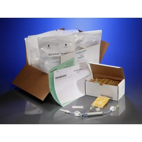 Contamination tester for use with: AdComp, Automix, Autocomp 6, Exacta-Mix, and Nutrimix compounders, 10 Testers, 10 100mL Bags of Media / CS