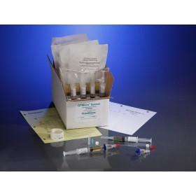 0.22µ Contamination tester, female luer lock inlet, female luer lock outlet, TSB Media, 10 Testers, 10 5cc Syringes of Media / CS