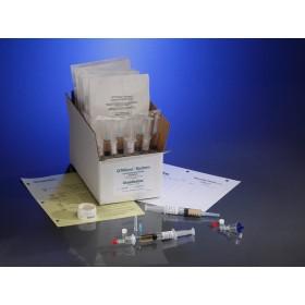 0.22µ Contamination tester, female luer lock inlet, female luer lock outlet, FTM Media, 10 Testers, 10 5cc Syringes of Media / CS