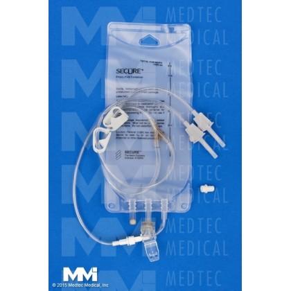 1000 ml EVA Gravity Bag – 2 Leg Detachable, 50/CS