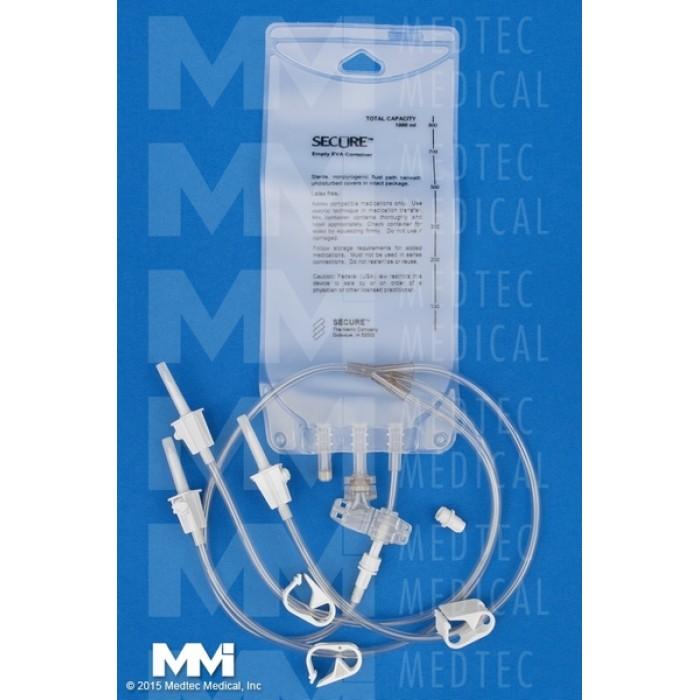 1000 Ml Eva Gravity Bag 3 Leg Detachable 50 Cs